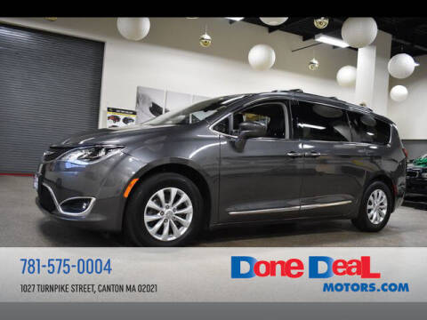 2018 Chrysler Pacifica for sale at DONE DEAL MOTORS in Canton MA