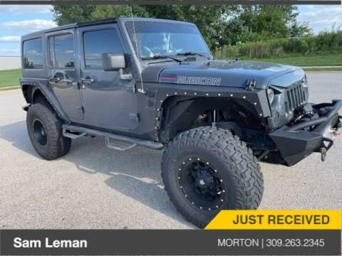 2017 Jeep Wrangler Unlimited for sale at Sam Leman CDJRF Morton in Morton IL