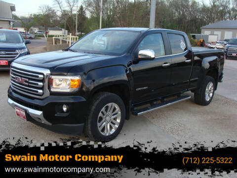 2015 GMC Canyon for sale at Swain Motor Company in Cherokee IA