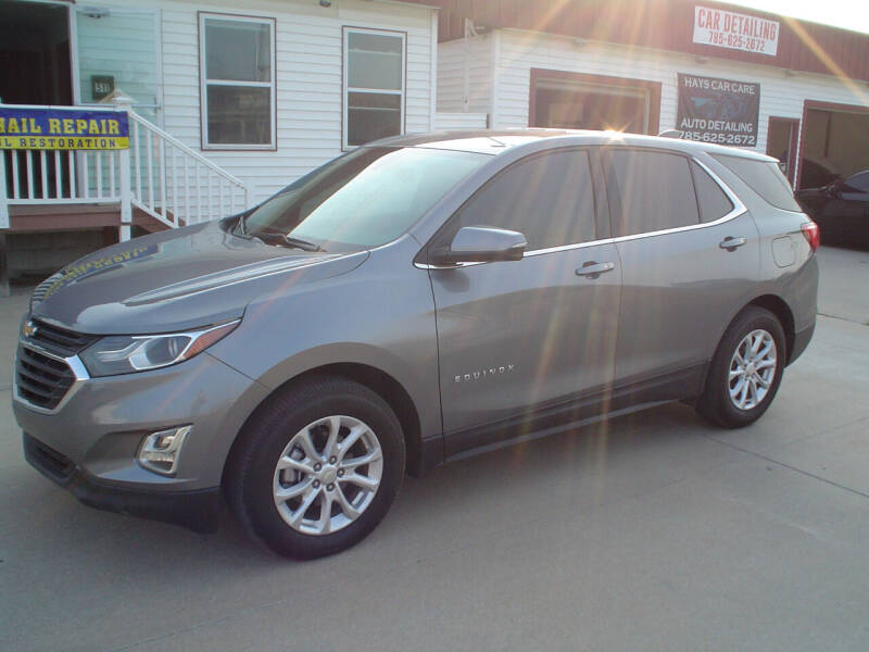 2018 Chevrolet Equinox for sale at World of Wheels Autoplex in Hays KS