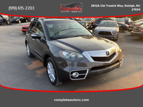 2010 Acura RDX for sale at Complete Auto Center , Inc in Raleigh NC