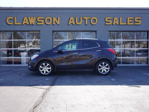 2013 Buick Encore for sale at Clawson Auto Sales in Clawson MI