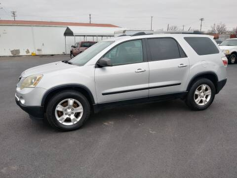 2011 GMC Acadia for sale at Big Boys Auto Sales in Russellville KY