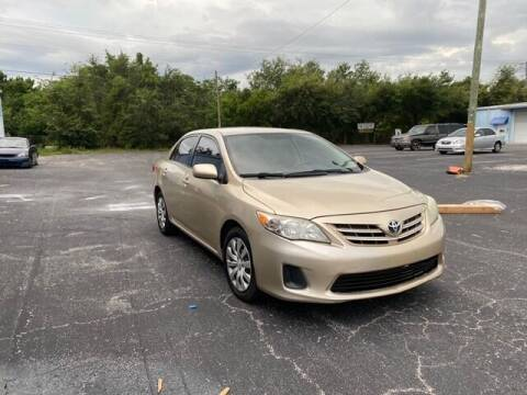 2013 Toyota Corolla for sale at Royal Auto Trading in Tampa FL