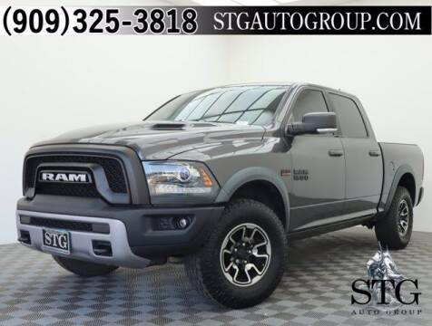 2017 RAM Ram Pickup 1500 for sale at STG Auto Group in Montclair CA