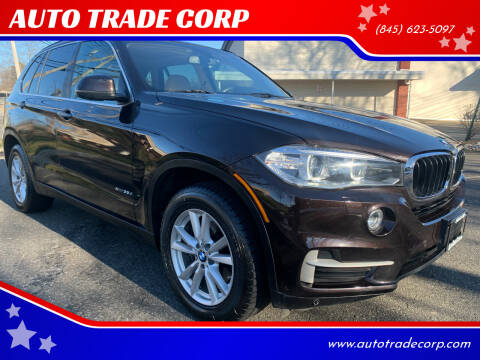 2014 BMW X5 for sale at AUTO TRADE CORP in Nanuet NY