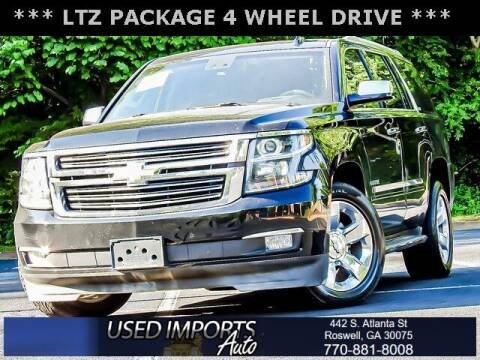 2015 Chevrolet Tahoe for sale at Used Imports Auto in Roswell GA