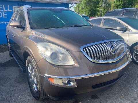 2012 Buick Enclave for sale at The Peoples Car Company in Jacksonville FL
