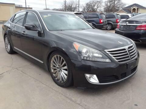 2014 Hyundai Equus for sale at Auto Haus Imports in Grand Prairie TX