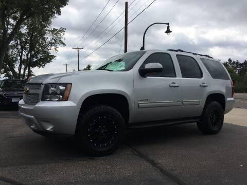 2013 Chevrolet Tahoe for sale at Premier Motors LLC in Crystal MN