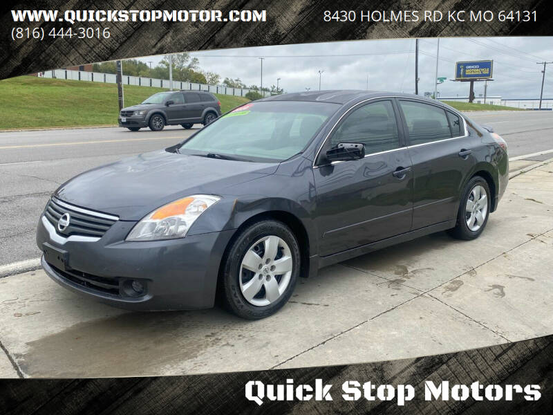 2008 Nissan Altima for sale at Quick Stop Motors in Kansas City MO