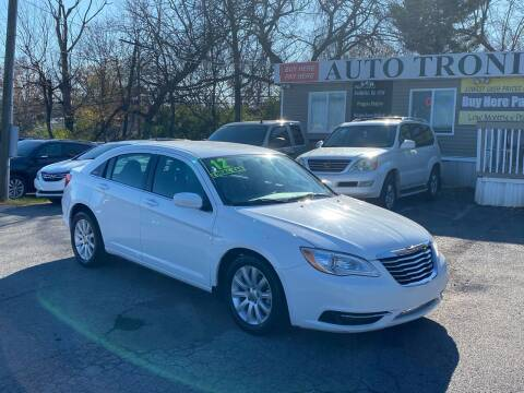 2012 Chrysler 200 for sale at Auto Tronix in Lexington KY