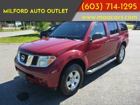 2007 Nissan Pathfinder for sale at Milford Auto Outlet in Milford NH