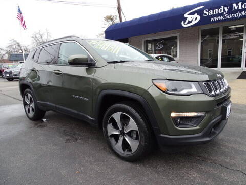 2018 Jeep Compass for sale at Sandy Motors Inc in Coventry RI