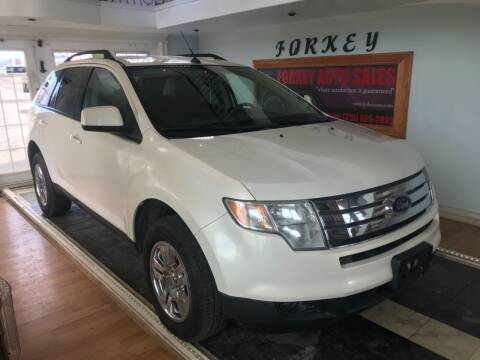 2008 Ford Edge for sale at Forkey Auto & Trailer Sales in La Fargeville NY