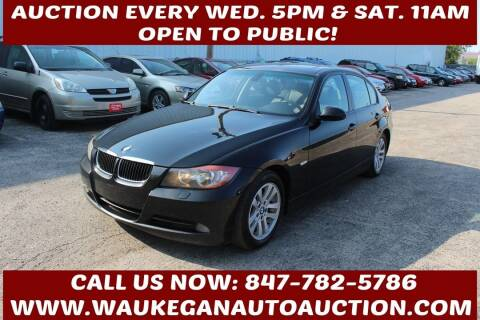 2007 BMW 3 Series for sale at Waukegan Auto Auction in Waukegan IL