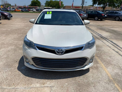2013 Toyota Avalon for sale at SOUTHWAY MOTORS in Houston TX