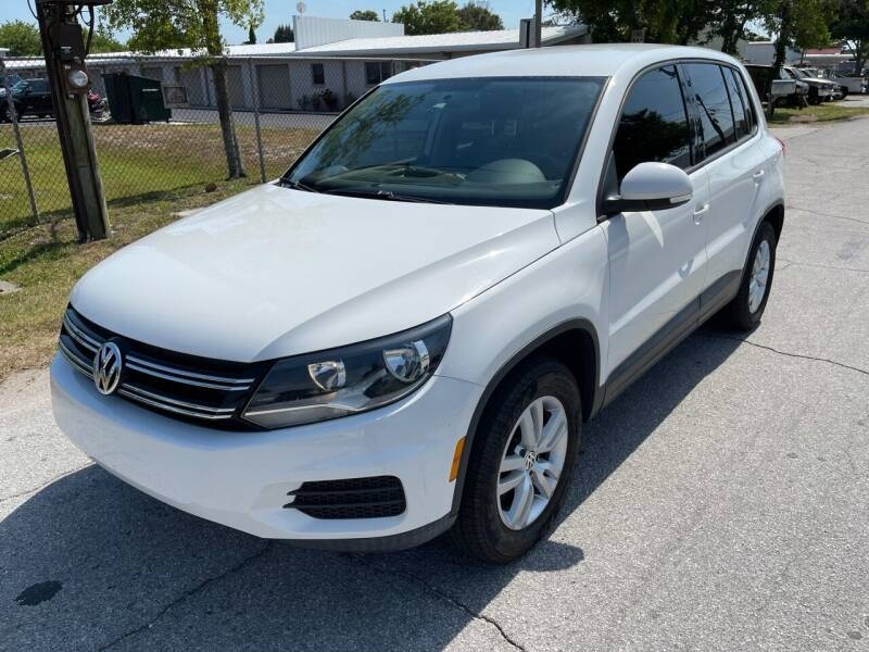 2012 Volkswagen Tiguan for sale at Ultimate Autos of Tampa Bay LLC in Largo FL