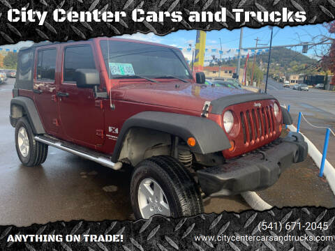 2008 Jeep Wrangler Unlimited for sale at City Center Cars and Trucks in Roseburg OR