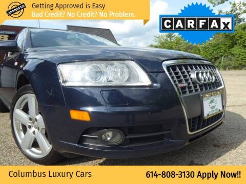 2008 Audi A6 for sale at Columbus Luxury Cars in Columbus OH