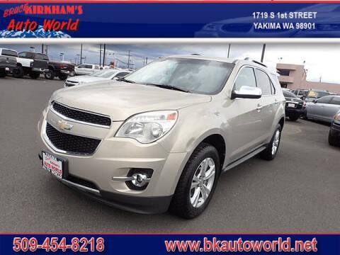 2011 Chevrolet Equinox for sale at Bruce Kirkham Auto World in Yakima WA