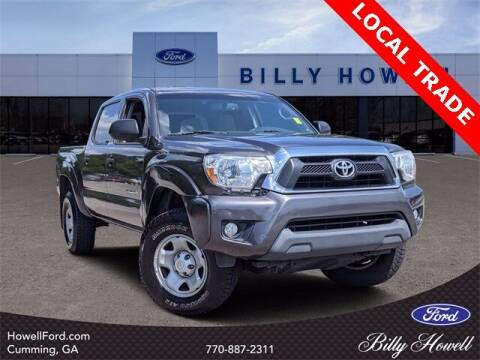 2013 Toyota Tacoma for sale at BILLY HOWELL FORD LINCOLN in Cumming GA