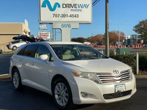 2010 Toyota Venza for sale at Driveway Motors in Virginia Beach VA