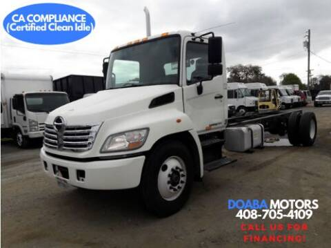 2010 Hino 338 for sale at DOABA Motors - Chassis in San Jose CA