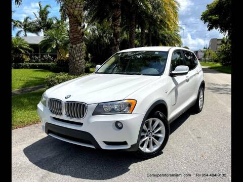 2013 BMW X3 for sale at HD CARS INC in Hollywood FL