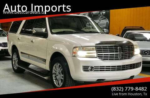 2010 Lincoln Navigator for sale at Auto Imports in Houston TX