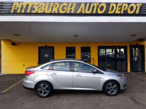 2017 Ford Focus for sale at Pittsburgh Auto Depot in Pittsburgh PA
