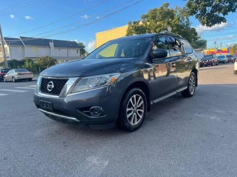 2014 Nissan Pathfinder for sale at Kapos Auto, Inc. in Ridgewood NY