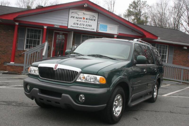 1998 Lincoln Navigator for sale at Peach State Motors Inc in Acworth GA