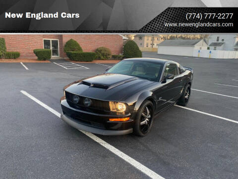 2007 Ford Mustang for sale at New England Cars in Attleboro MA