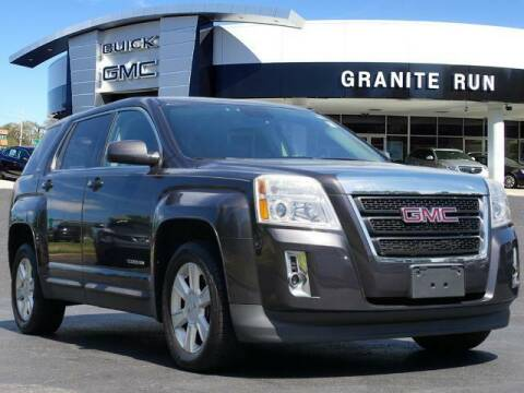 2013 GMC Terrain for sale at GRANITE RUN PRE OWNED CAR AND TRUCK OUTLET in Media PA