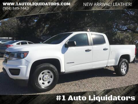 2018 Chevrolet Colorado for sale at #1 Auto Liquidators in Yulee FL