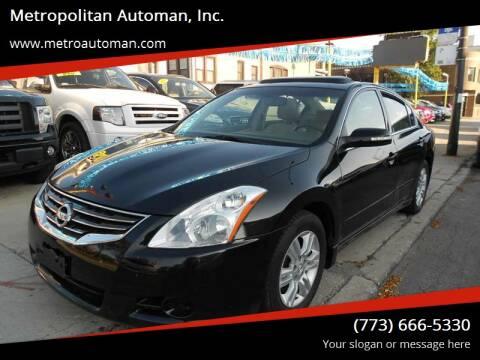 2010 Nissan Altima for sale at Metropolitan Automan, Inc. in Chicago IL
