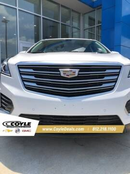 2018 Cadillac XT5 for sale at COYLE GM - COYLE NISSAN - New Inventory in Clarksville IN