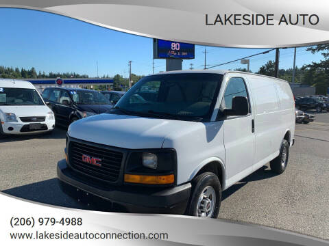 2013 GMC Savana Cargo for sale at Lakeside Auto in Lynnwood WA