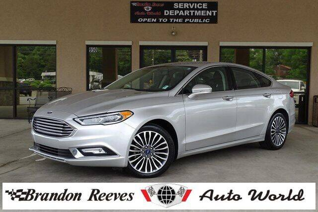 2017 Ford Fusion for sale at Brandon Reeves Auto World in Monroe NC