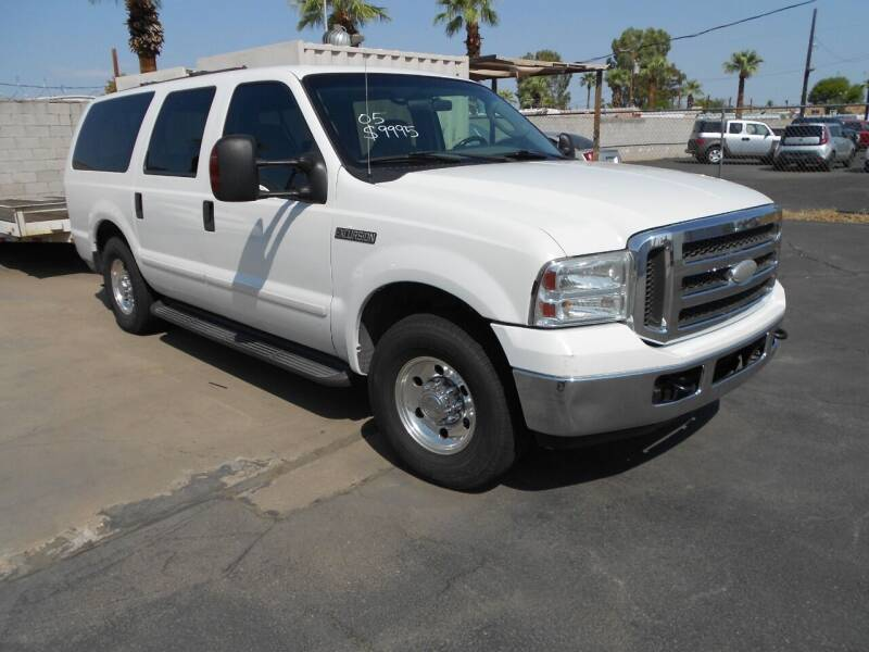 2005 Ford Excursion for sale at COUNTRY CLUB CARS in Mesa AZ