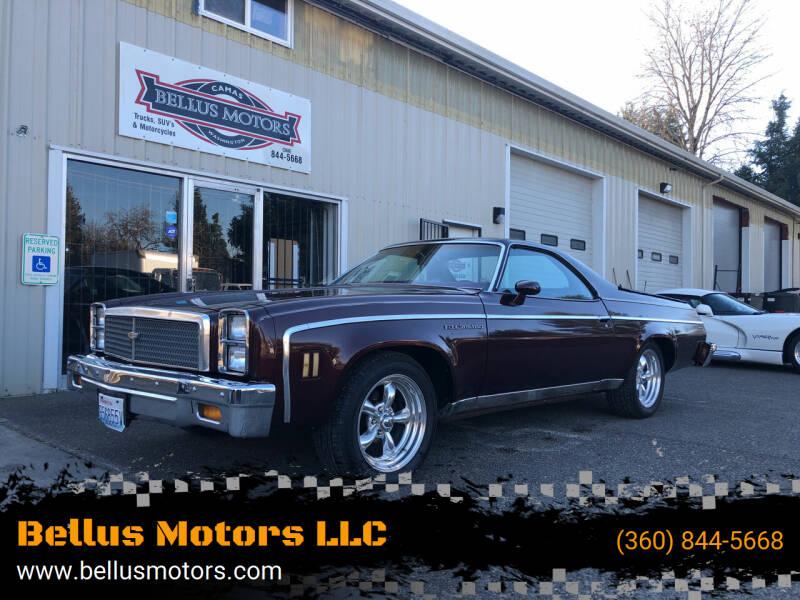 1976 Chevrolet El Camino for sale at Bellus Motors LLC in Camas WA