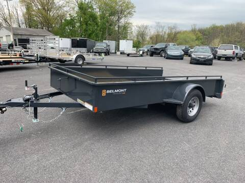 2020 Belmont 6x12 Solid Side 5k  for sale at Smart Choice 61 Trailers in Shoemakersville PA