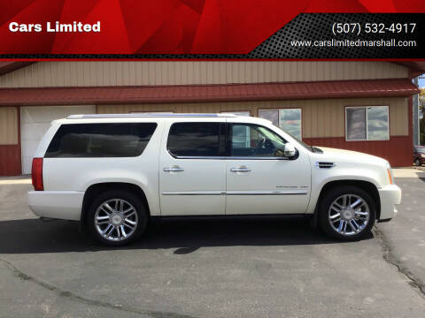 2011 Cadillac Escalade ESV for sale at Cars Limited in Marshall MN