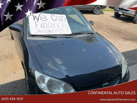 2004 Honda Civic for sale at Continental Auto Sales in White Bear Lake MN