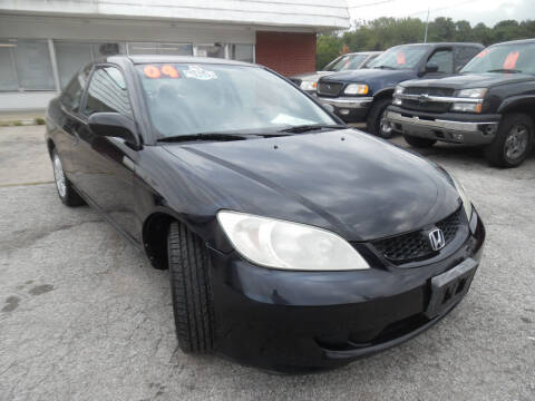 2004 Honda Civic for sale at VEST AUTO SALES in Kansas City MO