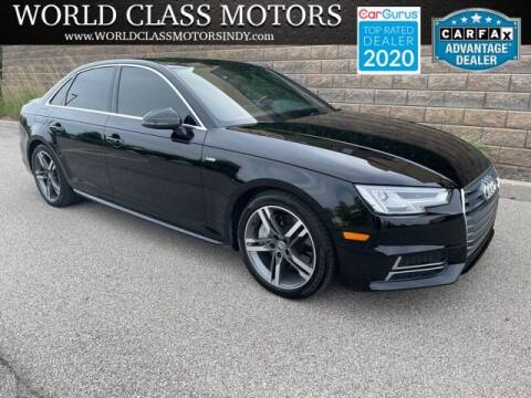 2018 Audi A4 for sale at World Class Motors LLC in Noblesville IN