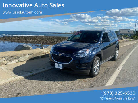 2017 Chevrolet Equinox for sale at Innovative Auto Sales in North Hampton NH