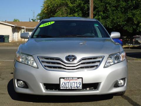 2011 Toyota Camry for sale at Moon Auto Sales in Sacramento CA