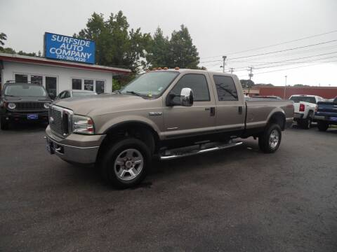 2006 Ford F-350 Super Duty for sale at Surfside Auto Company in Norfolk VA